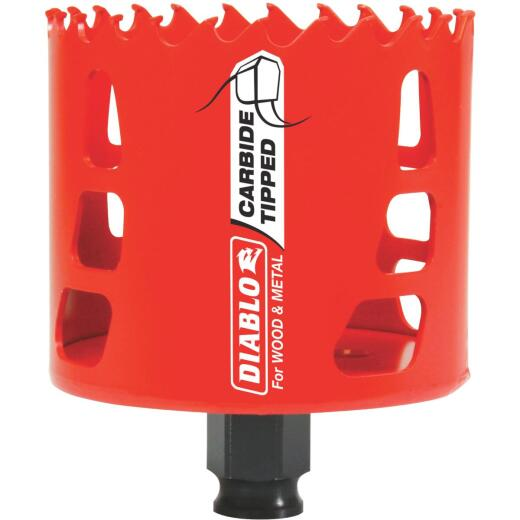 Diablo 3 In. Carbide-Tipped Hole Saw