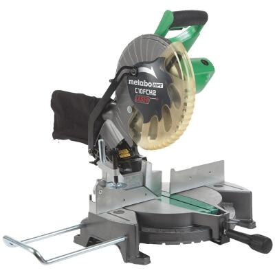 Metabo 10 In. 15-Amp Compound Miter Saw with Laser