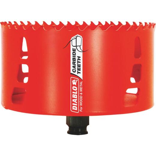Diablo 5 In. Carbide-Tipped Hole Saw