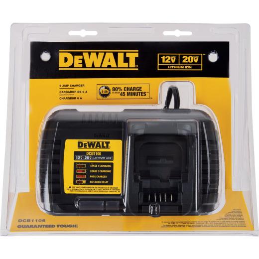 DeWalt 12 Volt MAX/20 Volt MAX and Flexvolt Lithium-Ion Battery Charger