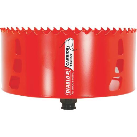 Diablo 6 In. Carbide-Tipped Hole Saw