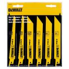 DeWalt 6-Piece Reciprocating Saw Blade Set Image 2