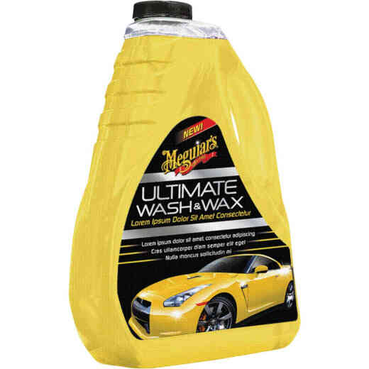 Meguiar's 48 Oz. Liquid Ultimate Car Wash & Wax