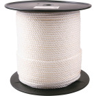 Do it 1/4 In. x 600 Ft. White Twisted Nylon Rope Image 1
