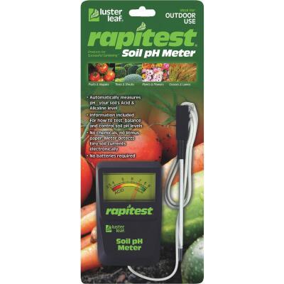 Rapitest Plastic pH Meter Soil Tester