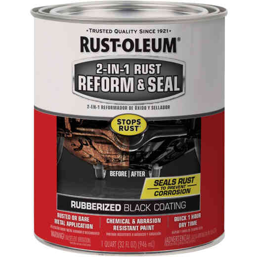 Rust-Oleum 1 Qt. Liquid 2-In-1 Reform & Seal Rubberized Auto Undercoat
